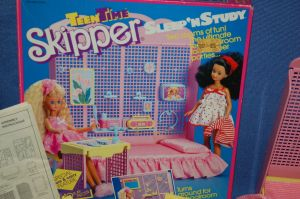 1988 Teen Time Skipper Sleep 'n' Study Set