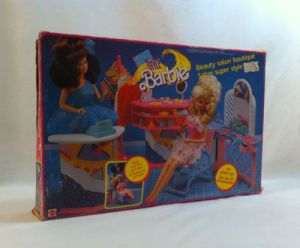 1989 Super Style Barbie Beauty Salon Boutique