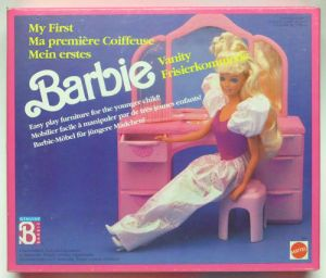 1991 My First Barbie Vanity - from Italy