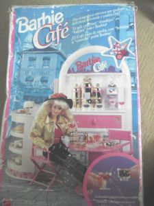1992 #10134 Barbie Cafe