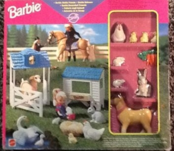 1997 Barbie Stable Friends