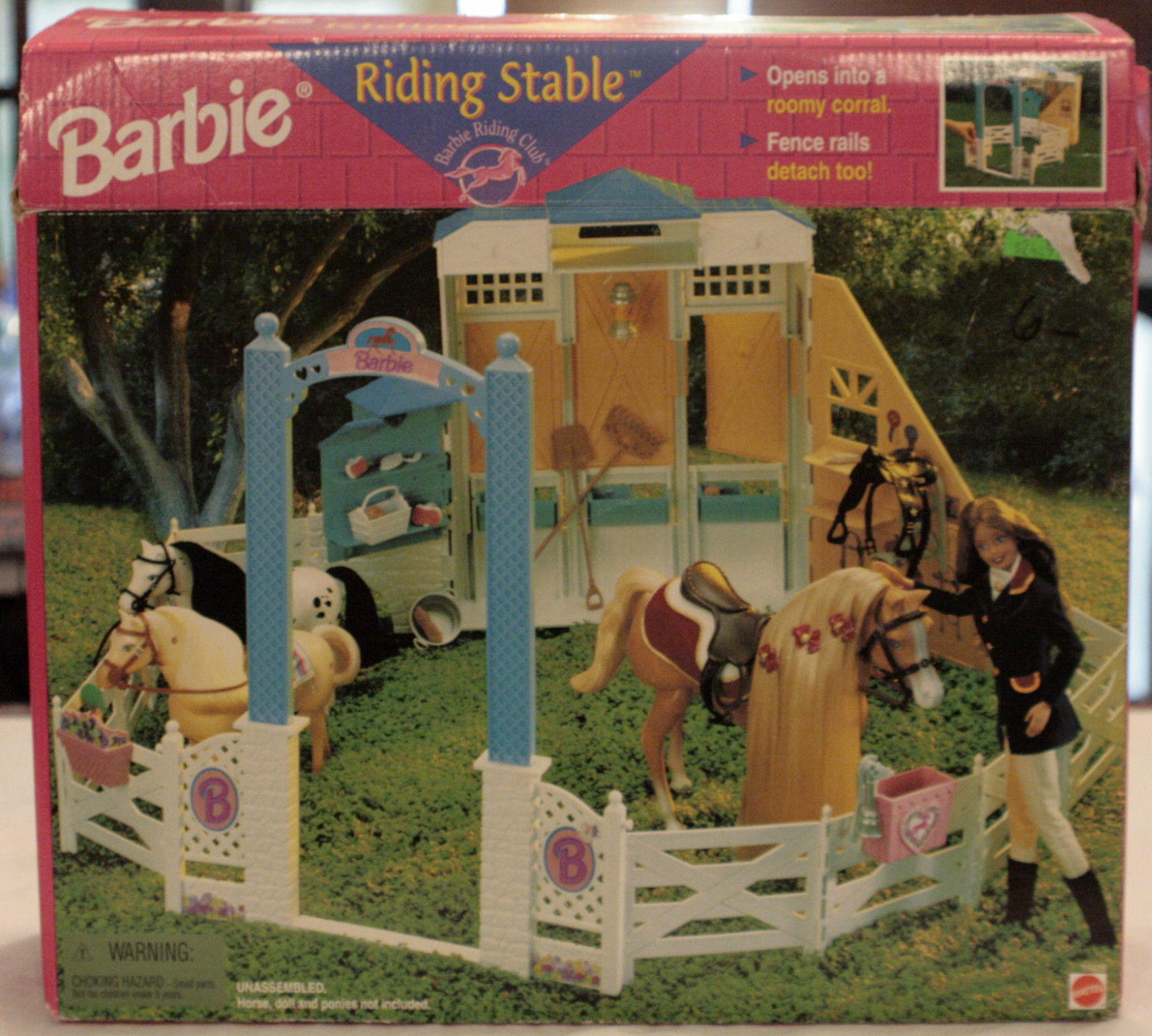1998 Barbie Horse Riding Stable Barbie Doll Friends And Family History And News From 1959 To The Present