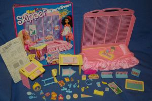 1998 Teen Time Skipper Sleep 'n' Study Set