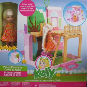 2006 KELLY Pop Up Playhouse Playset - Tree House & Back Yard