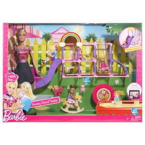 2013 BARBIE® I CAN BE...™ Nursery School Teacher Playset -