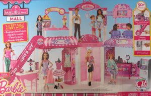 2014 Barbie  Malibu Mall