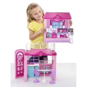 2014 Barbie® Glam Vacation House inside