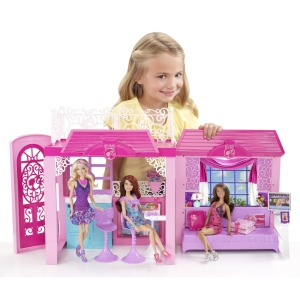 2014 Barbie® Glam Vacation House out of box