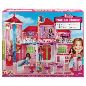 2014 Barbie®Malibu House - NRFB and flyer.