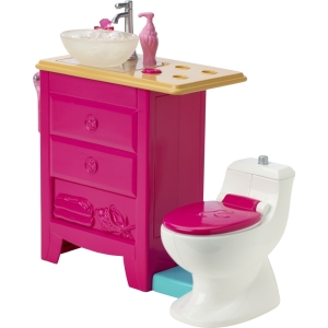 2015 Barbie® Dreamhouse® toilet