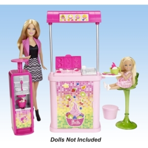 2015 BARBIE®The Malibu Ave.™ Yogurt Shop f