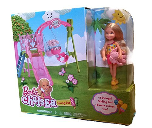 2016 Barbie Chelsea Swing Set
