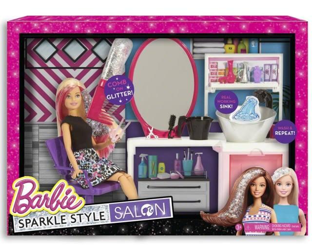 2016 Barbie Sparkle Style Salon –