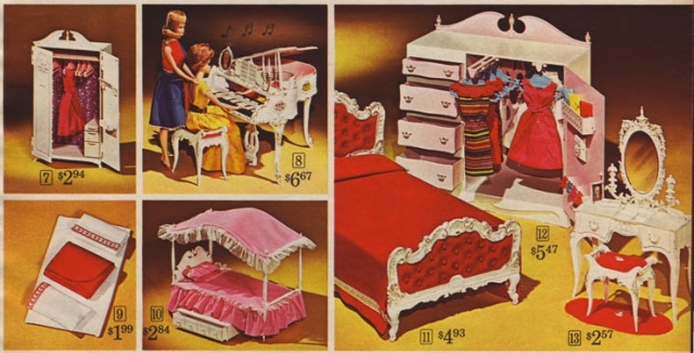 Barbie, Family and Friends First Furnitures