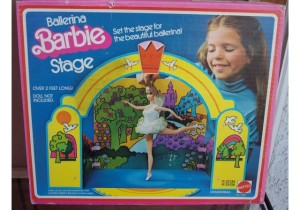 BALLERINA BARBIE STAGE