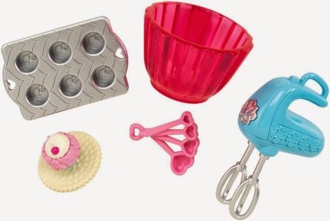 Barbie Cupcake Pack Flyer