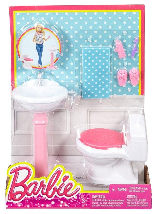 Barbie Dream Bathroom Playset NRFB