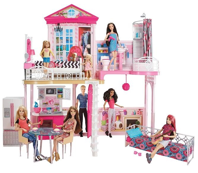 Barbie Dream house 2015 | Barbie Doll, friends and family history