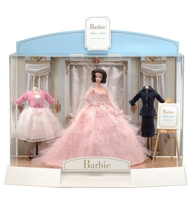 Barbie Fashion Model Collection 2001 Limited Edition Display Case