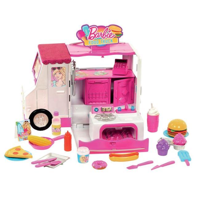 Barbie Food Truck Playset flyer