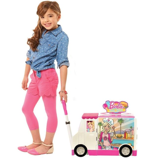 Barbie Food Truck Playset poster
