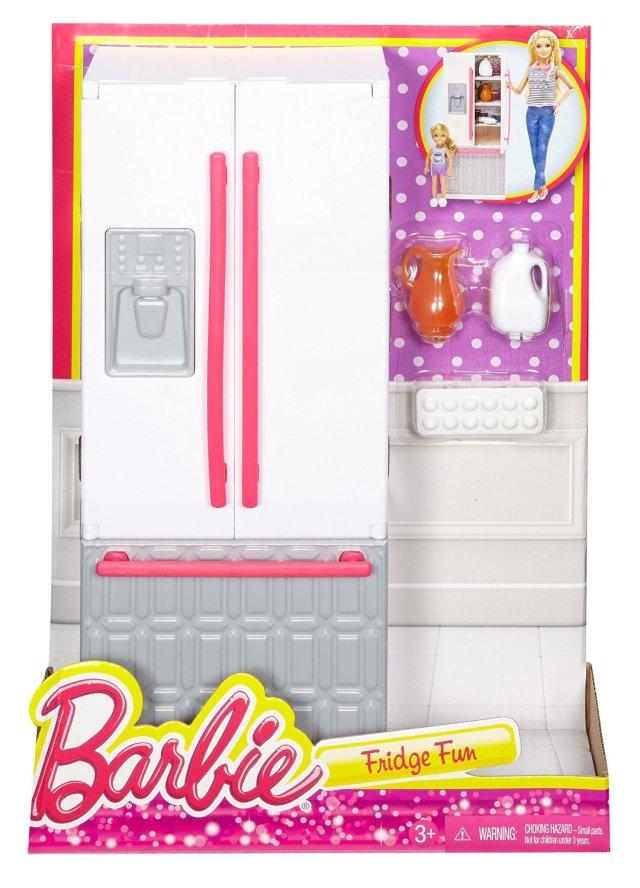 Barbie Fridge Fun Playset