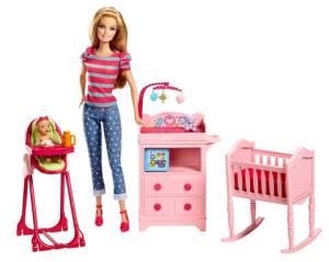 Barbie I Can Be Large Infant Caretaker Play Set flyer