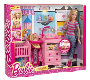 Barbie I Can Be Large Infant Caretaker Play Set