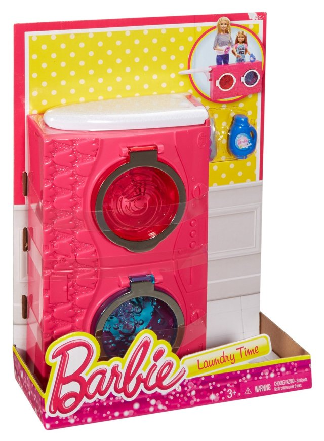 Barbie Laundry Time Playset