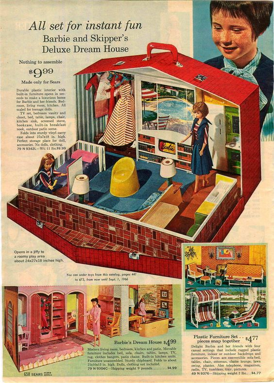 Barbie & Skipper's Deluxe House,