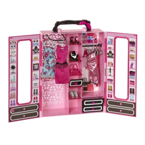 Barbie STYLE™ ULTIMATE CLOSET™ inside open