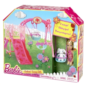 BARBIE® CHELSEA® Swing Set NRFB