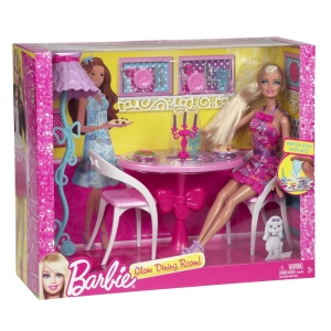 BARBIE® Glam Dining Room!