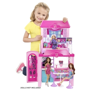Barbie® Glam Vacation House inside