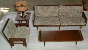 Barbie's Danish Furniture~LIVING ROOM SET~outbox