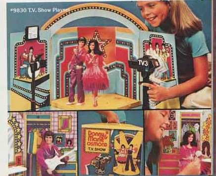Donny & Marie TV Show Playset.