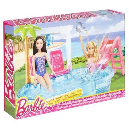 Glam Pool Barbie Play set NRFB