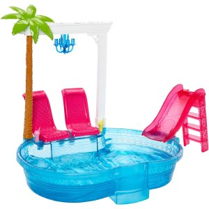 Glam Pool Barbie Play set
