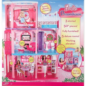 Barbie Dream house 3-Story X3551 Fully Furnished! NRFB
