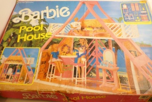 Barbie Pool House
