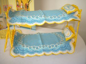 Close up bed