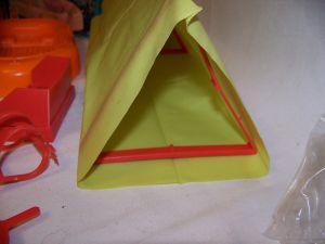 Close up tent