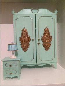 Milady furniture wardrobe nightstand and lamp