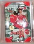 RARE HTF Coca Cola Brunette Convention Barbie