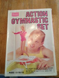 Sears Action Gymnastic Set barbie Fashion dolls