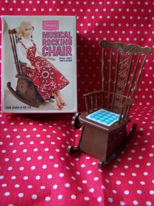SEARS MUSICAL ROCKING CHAIR
