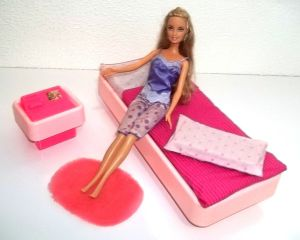 Brazilian Barbie Estrela Bed Room Complete out of box