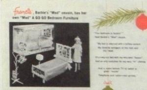 Mattel AD nov. 1966