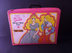 Barbie Bedroom Sleep 'N Keep case