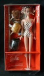 1963 #870 Barbie Fashion Queen~NRFB~HighColar
